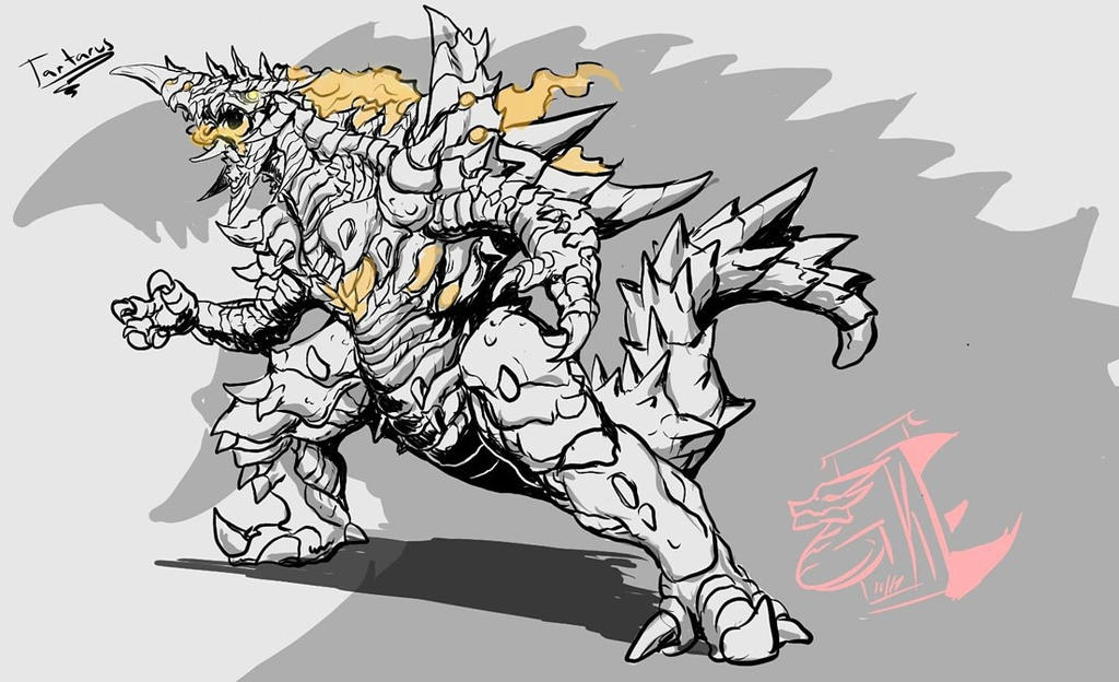 Commission Sketched: Tartarus by Gabe-TKE