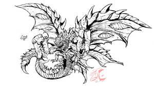Commission: Zorax (profile) by Gabe-TKE