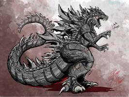 Ghynesis`: Godzilla (densetsu) by Gabe-TKE