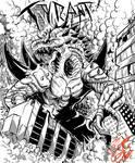 Commission: Tyrant (BW)