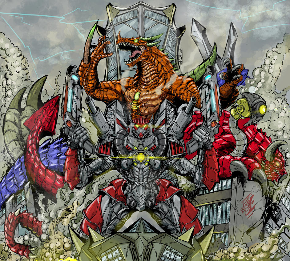 Titan's Childern (color) by Gabe-TKE