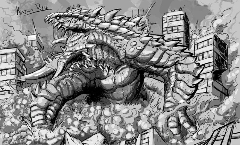 Kazan'Ryu (revamped) by Gabe-TKE