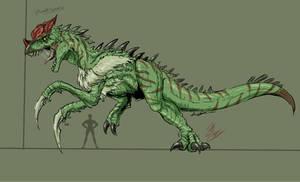 The Mantisaurus (Kong 76) by Gabe-TKE