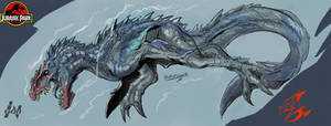 Commission: Neptunosaurus (sketch)