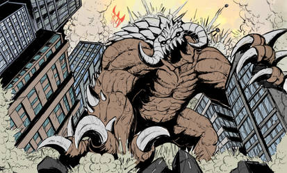 Commission: Gurral The Smasher (base color) by Gabe-TKE