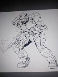 Coomission: Armor design ( progression) by Gabe-TKE