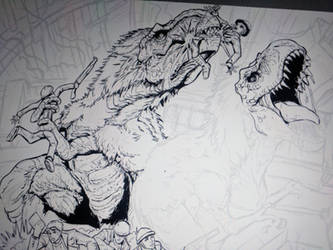Commission: Breakout in the Collider (preview) by Gabe-TKE