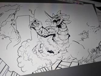 Seagorath Attacks (update) by Gabe-TKE