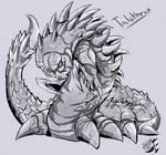 Commission: Talothrax (sketch)