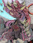 Godzilla Vs Deathla (color)