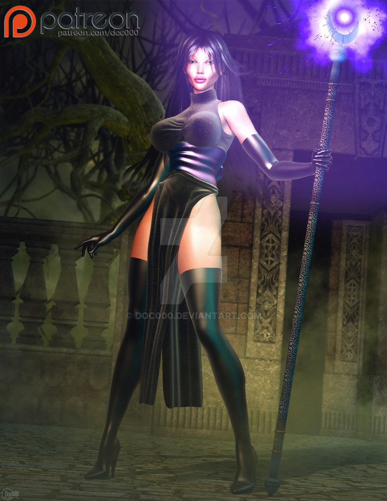 Dark Sorceress by Doc000