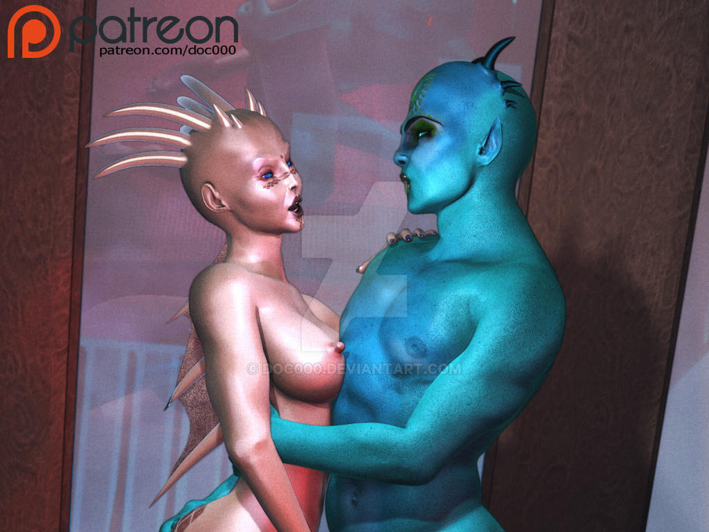 Alien Contact 2 (cropped) by Doc000