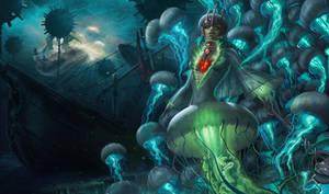 Jellyfish Nami Lg by slowgun9