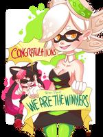 Congratulations team Marie! by BizcochoStudios