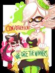 Congratulations team Marie!