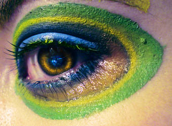 Peacock Eye by viridis-somnio