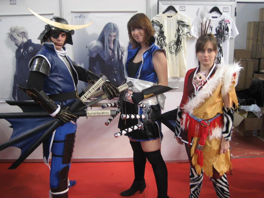Galeria de cosplays de Ichi Double_date_masamune_and_keiji_gyaru_by_ichitaicho-d4ffsg0