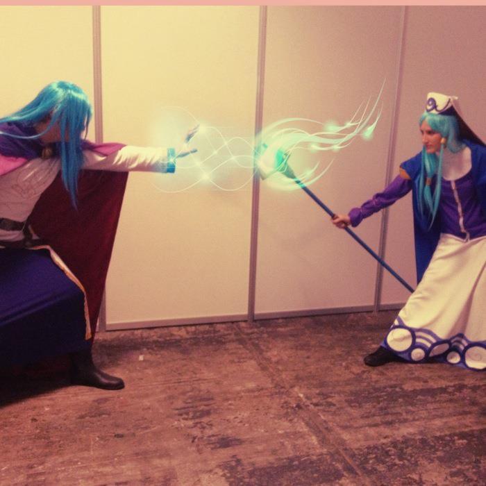 Arcanus vs Mia by ichitaicho