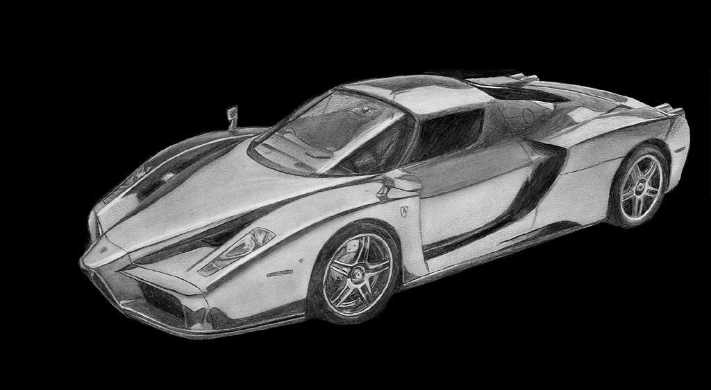 Ferrari Enzo Drawings