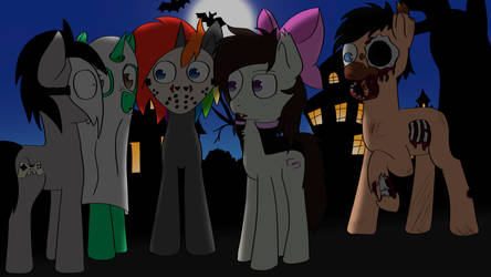 Behind you! Halloween challenge by TheDkDude