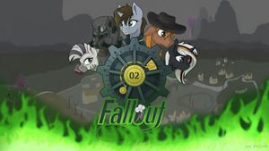 Fallout equestria fan art