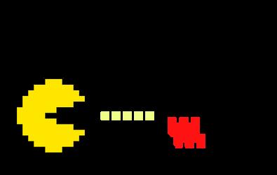 Pac-Man meets Mario by Scruffy4