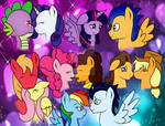 The love of the Main Six by AllytheWolffy98