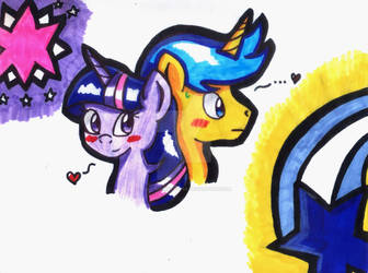 AT- Comet Tail X Twilight Sparkle