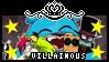 Villainous Stamp by AllytheWolffy98