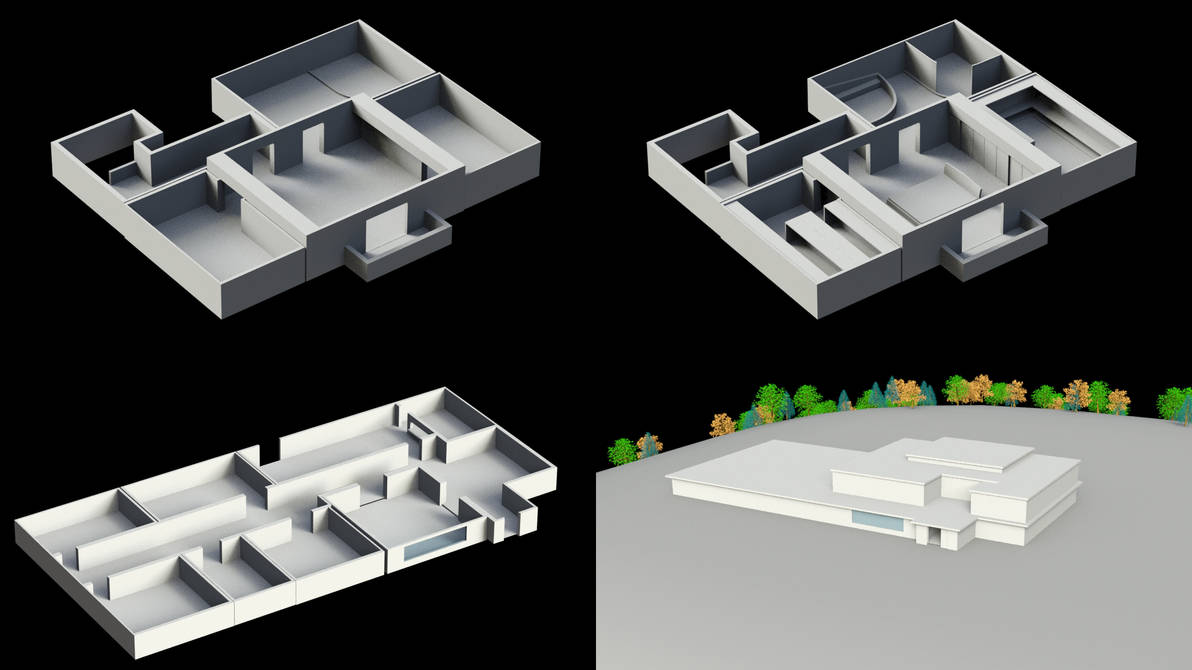 Base-architectural modeling- interior and ext