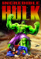 Hulk SMASH pajama boy by DCON