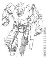 New Optimus Prime by DCON