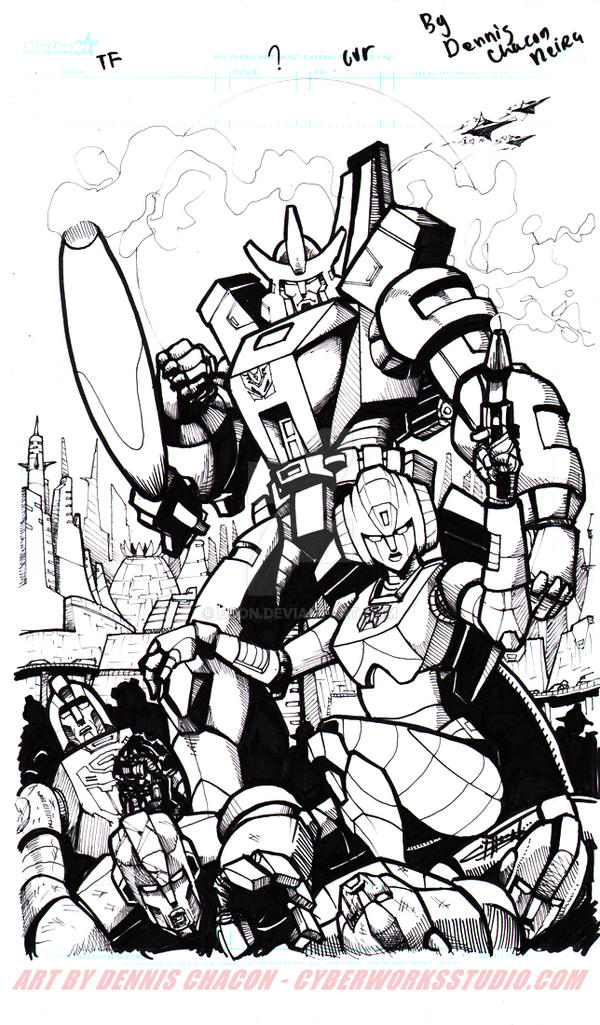 All hail Galvatron! by DCON