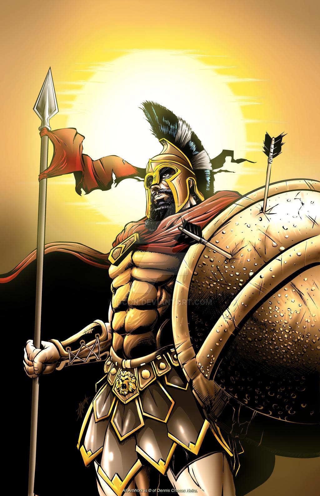 Spartan Leonidas by DCON