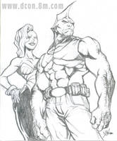 The Savage Dragon by DCON