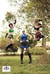 Post-Apocalyptic Powerpuff Girls