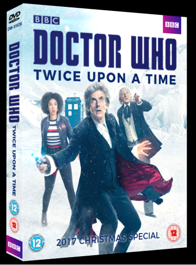 Twice Upon A Christmas Doctor Who.Doctor Who Twice Upon A Time Dvd By Whoviancriminal On