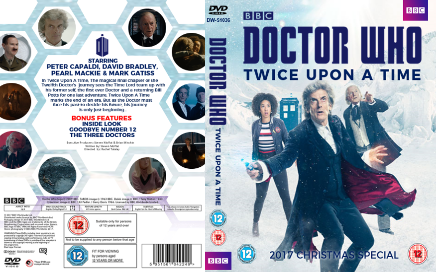 Twice Upon A Christmas Doctor Who.Doctor Who Twice Upon A Time Dvd Cover By Whoviancriminal