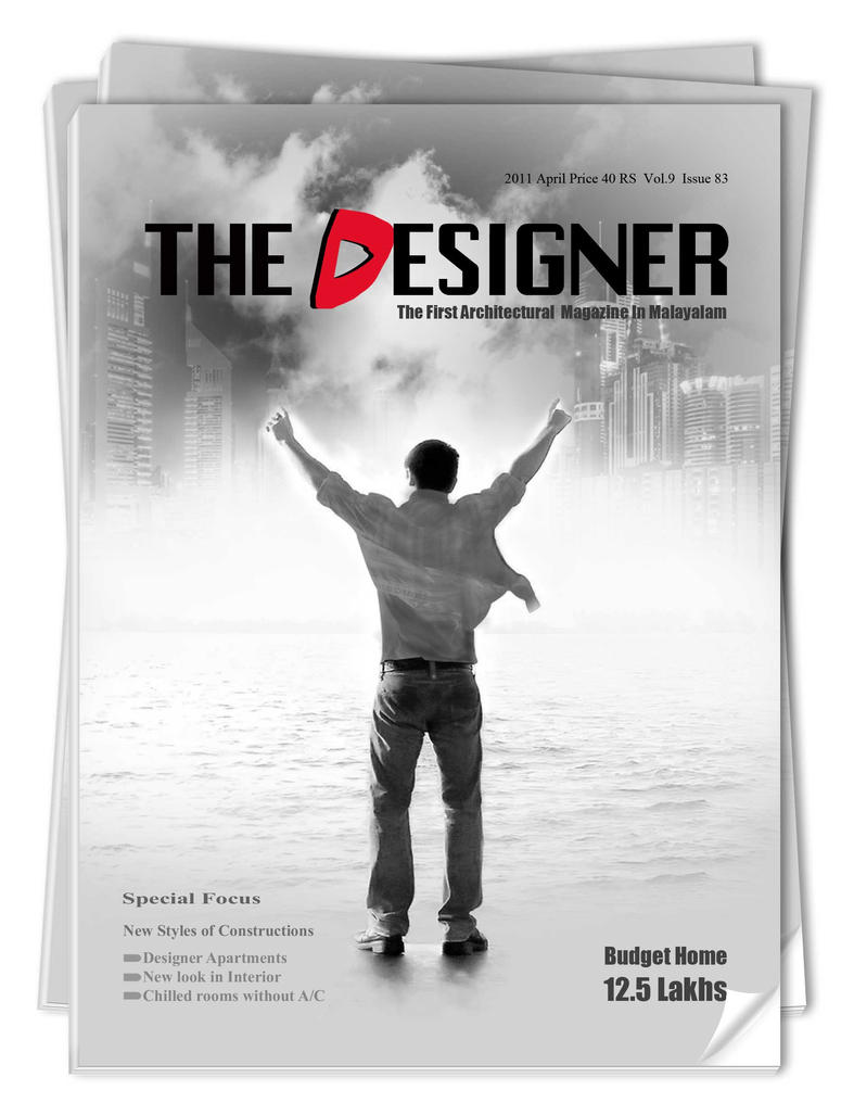 Magazine Cover Page Design By Sunithanishanth