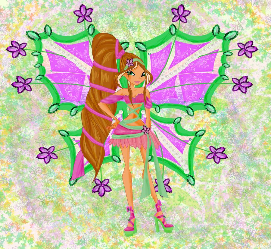 Flora by winx club by girlfromfairytale