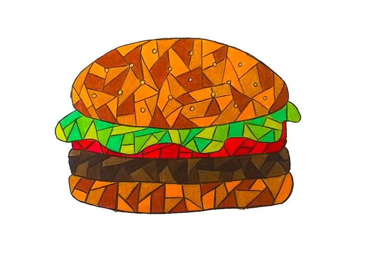 Burger by leb82