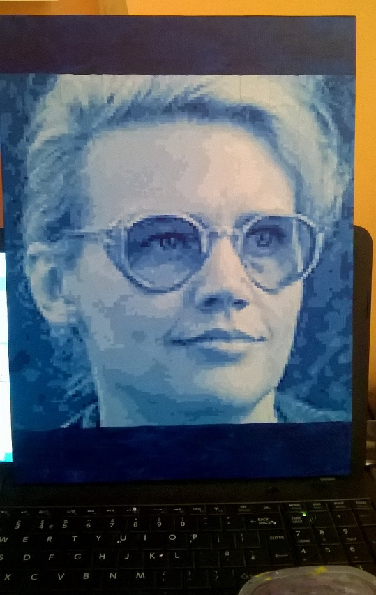 Holtzmann pixel painting WIP by leb82