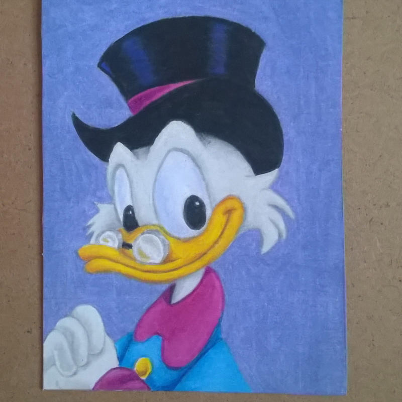 Scrooge McDuck ACEO by leb82