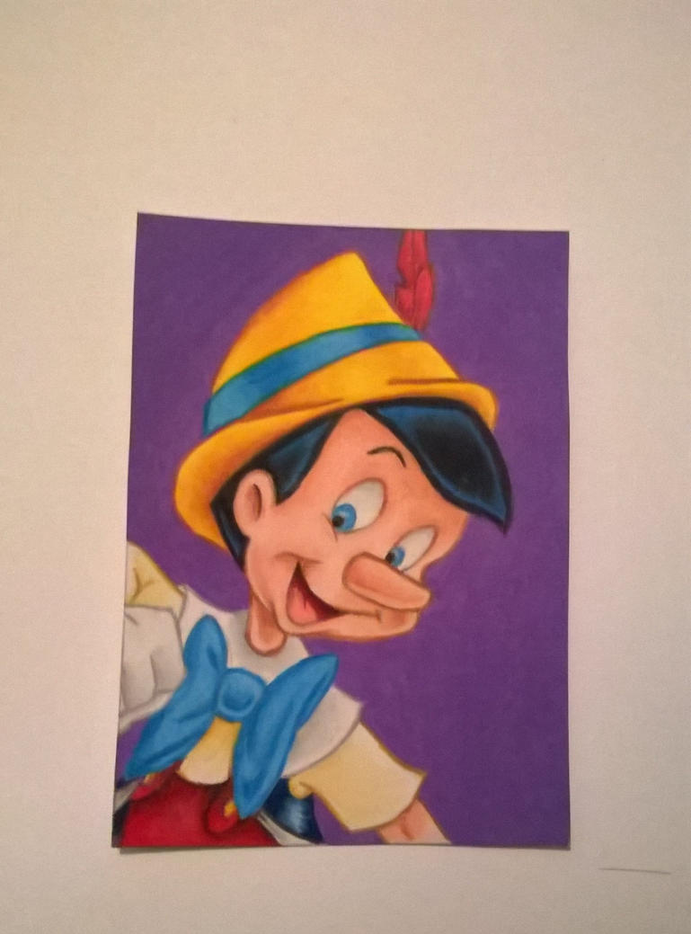 Pinocchio aceo by leb82