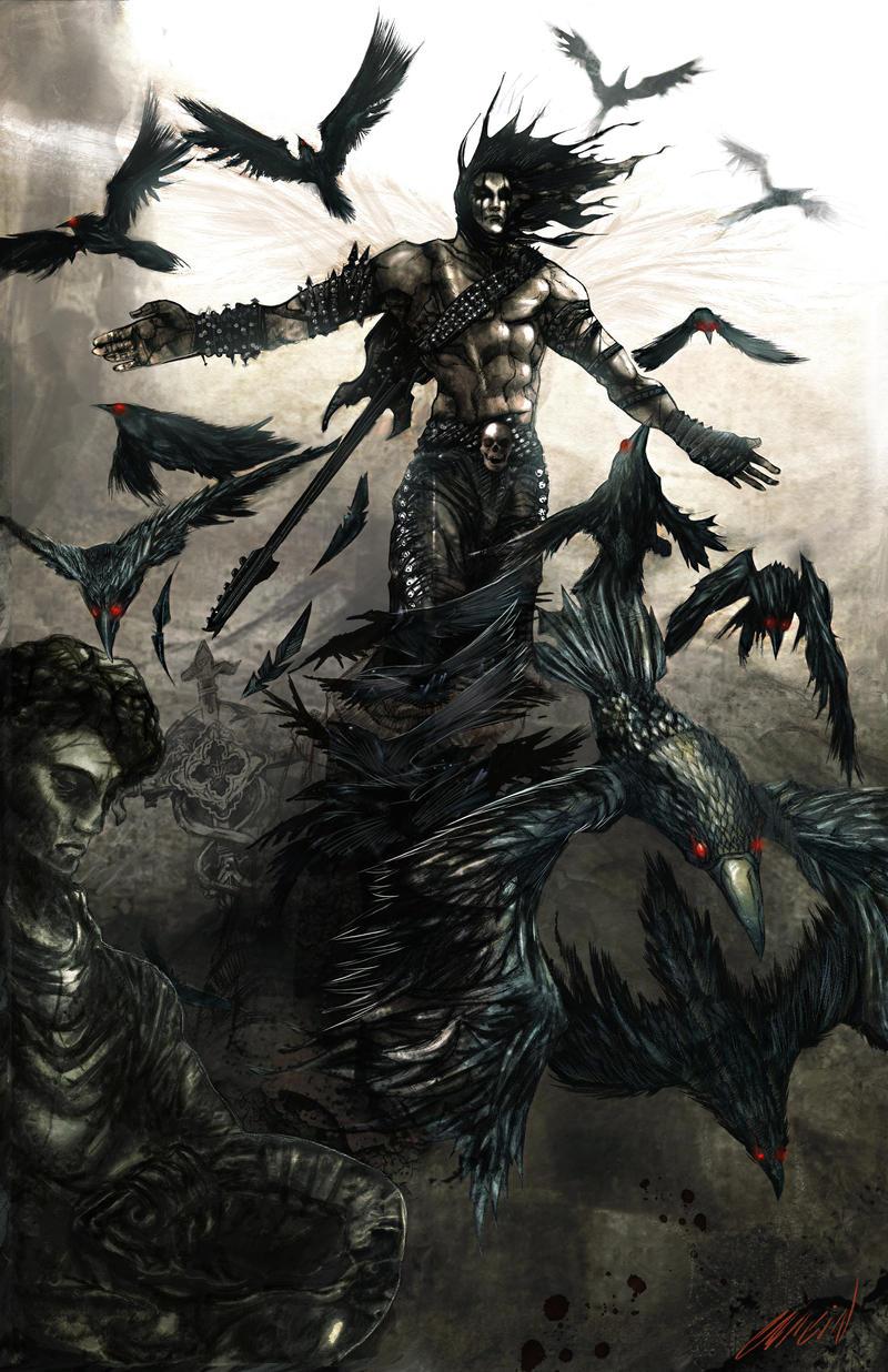 THE CROW by hagencalacin on DeviantArt
