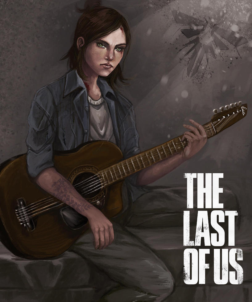 Ellie fron The Last of us by hagencalacin