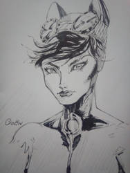 Catwoman by hagencalacin