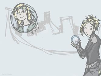 Character design - Zala by not-cake