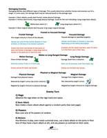 Raiders of Elduurn - Instructions page3 by Peter-CaliferGames