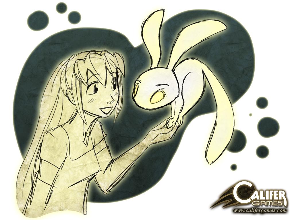 Miranda and Spirit by Peter-CaliferGames
